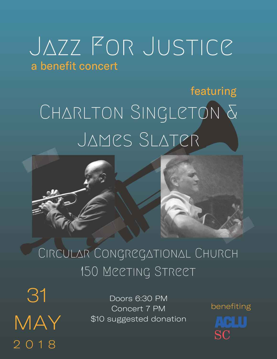 Jazz for Justice Benefit Concert for ACLU