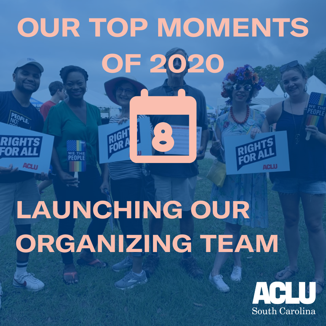 Launching our Organizing Team