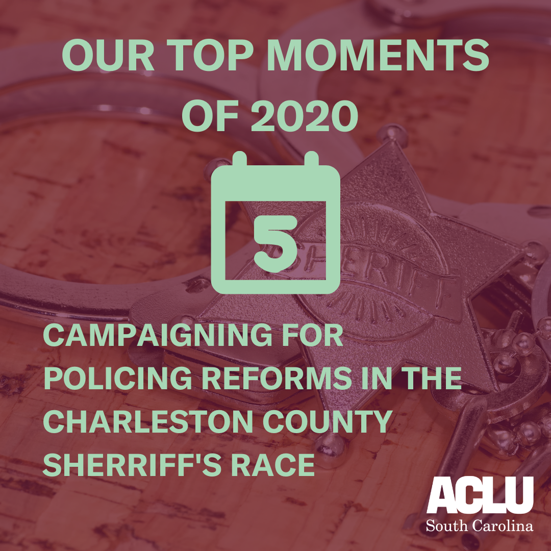 Campaigning for Policing Reforms in the Charleston County Sheriff's Race