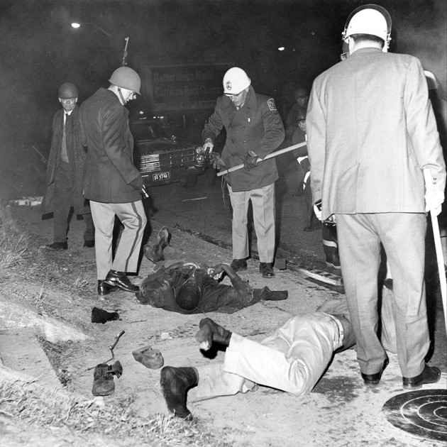 Student-led civil-rights protest in Orangeburg, SC in 1968 turns deadly.