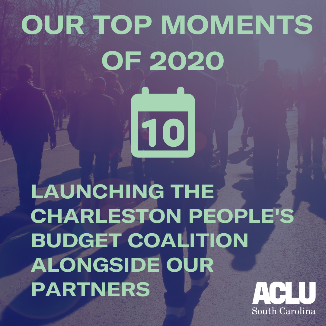 Co-Launching the Charleston People's Budget Coalition