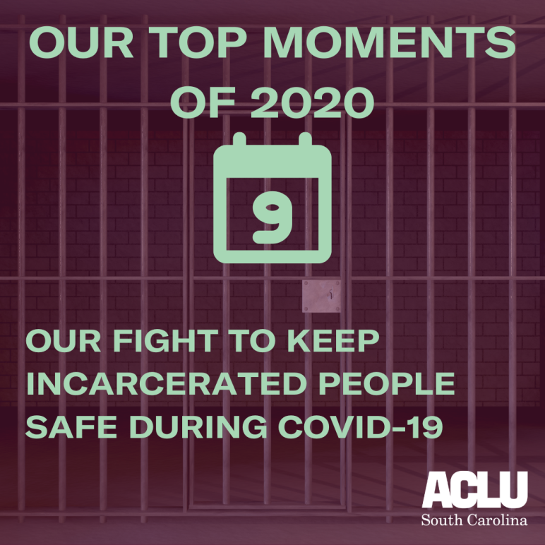 Our work to keep incarcerated people safe during COVID-19
