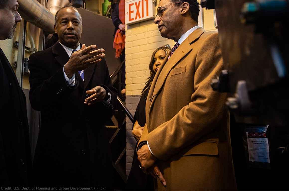 Secretary Carson visits NYCHA