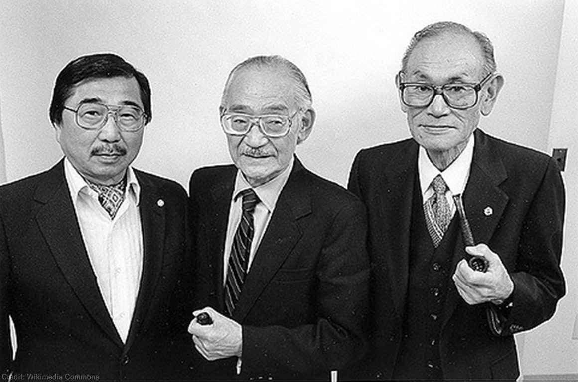Gordon Hirabayashi, Minoru Yasui, and Fred Korematsu