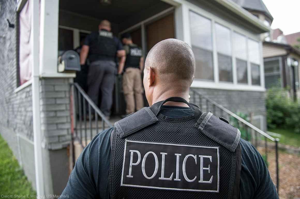 Police Outside Home